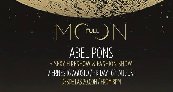 Full Moon Abel Pons – 16 agosto